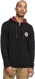 Men's Rebel Pullover Half Zip Hoodie Fleece Jacket