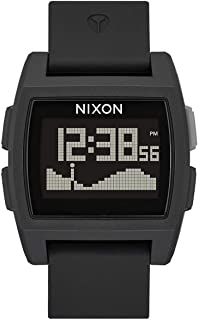 NIXON Base Tide A1104-100m Water Resistant Men's Digital Surf Watch (38 mm Watch Face, 22 mm Pu/Rubber/Silicone Band)