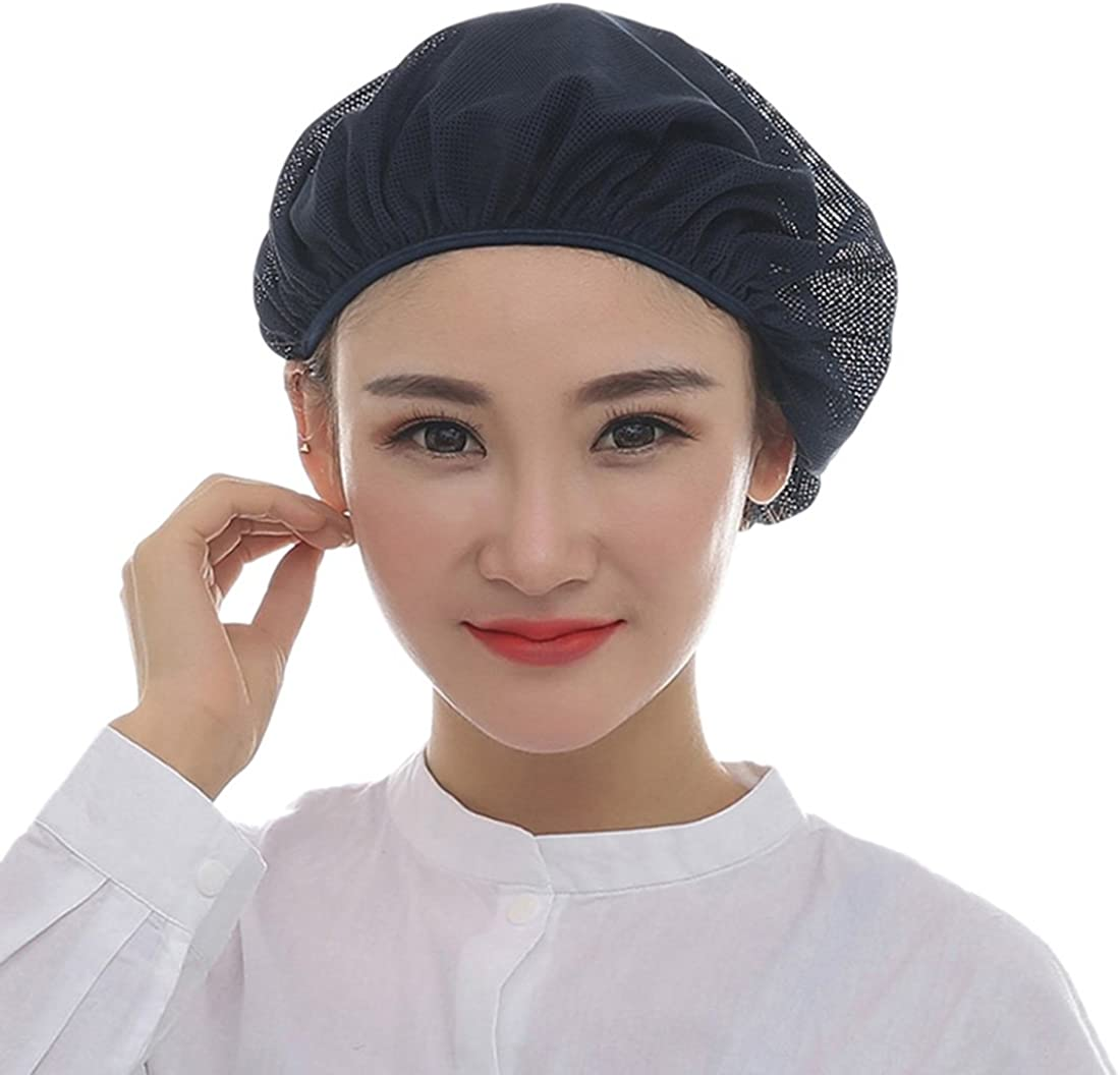 low-pricing Jiyaru Mesh Chef Hat Breathable Catering Working Free shipping on posting reviews Baking Kitchen