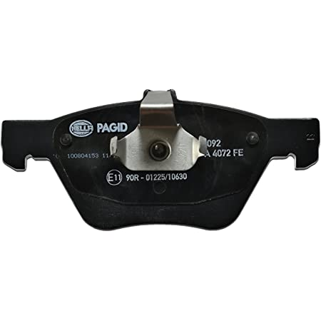 Hella Pagid 8db 355 007 891 Brake Pad Set Disc Brake Front Axle Auto