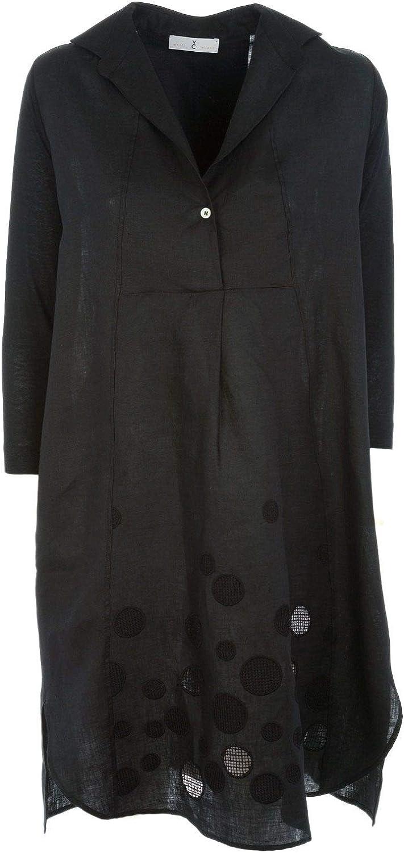 Whyci Women's WHYCI10220001 Black Viscose Dress