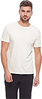Fruit Of The Loom T-shirts For Men, Cream XL