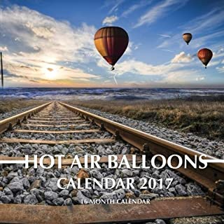 hot air balloon calendar 2017