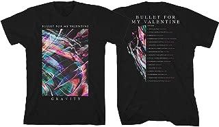 Men's Gravity Euro Tour 2018 (Ex Tour/Back Print) Slim Fit T-Shirt Black