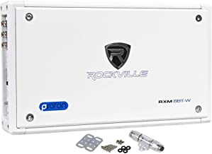 New Rockville RXM8BTW 8 Channel 1500 Watt Marine/Boat Amplifier Amp w/Bluetooth