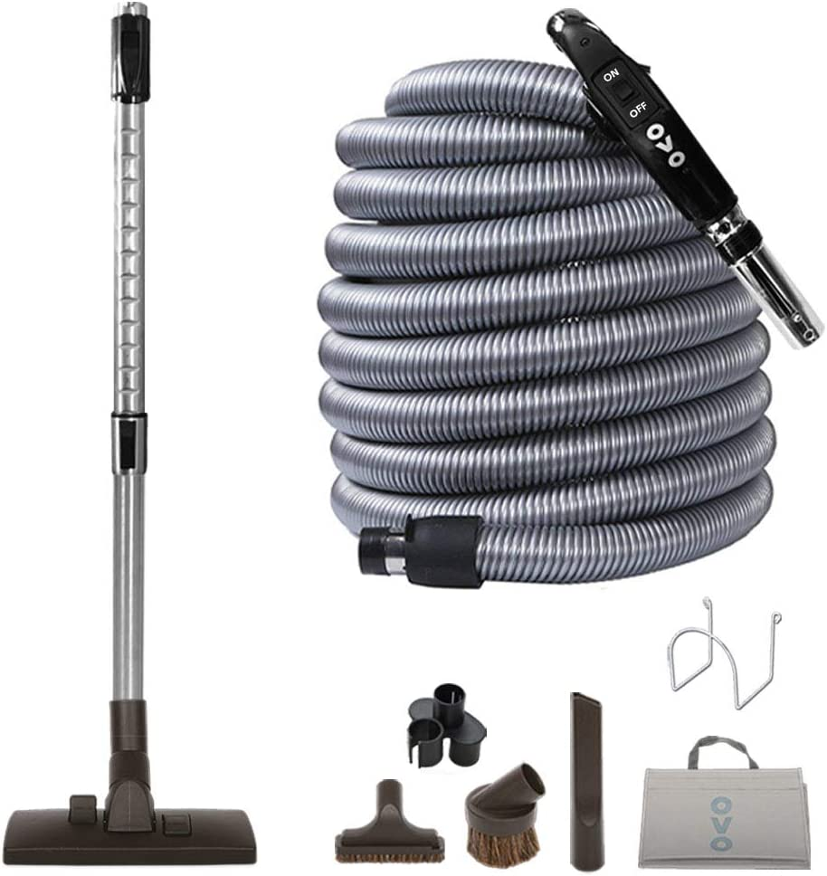 Ovo KIT-LV35S-OVO Central Vacuum Hardwood Brush Cleaning Tools A