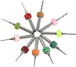 10 unids brocas de taladro de PCB cementada bits de taladro 0.6-1.5mm micro para placa de circuito de impresión de PCB CNC
