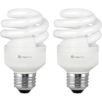 Philips Led 417063 Energy Saver Compact Fluorescent T2 Mini Twister A19 Replacement Household Light Bulb 2700 Kelvin 9 Watt 40 Watt Equivalent E26 Medium Screw Base Soft White 4 Pack Amazon Com
