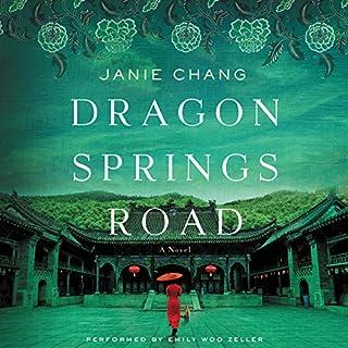 Dragon Springs Road audiobook cover art