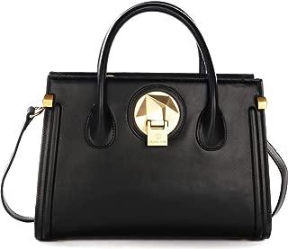 Celine Dion Octave Satchel Bag-Black