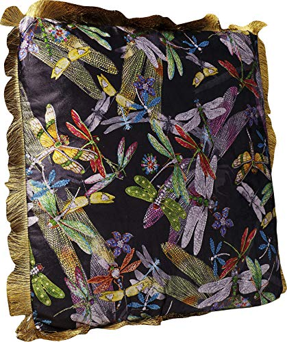 Kare Kissen Tropical Garden Fringe 8x45x45cm, Mehrfarbig, One Size