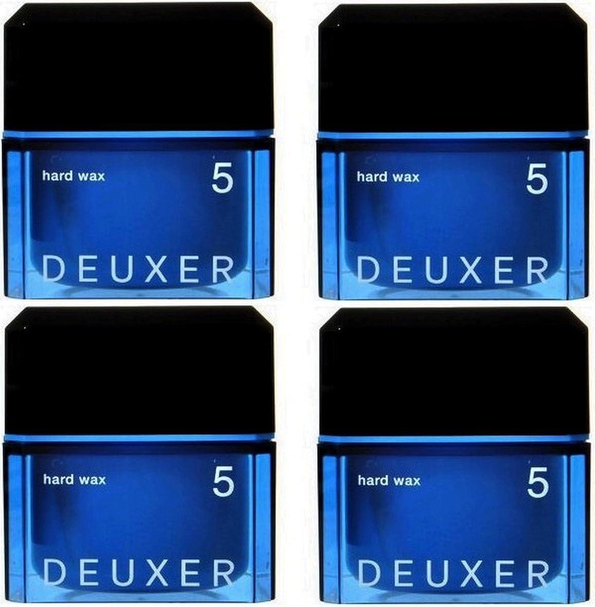 熱意ワイプカテナ【X4個セット】 ナンバースリーデューサー ハードワックス5 80g(スタイリングWAX)