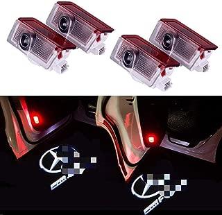 Broco Auto specchio retrovisore della copertura della protezione Trim for Mercedes Classe C W205 E-Class W213 x253 Piano Black
