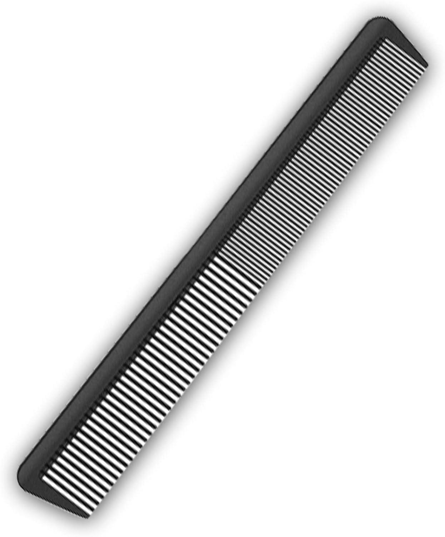 JeoPoom Peine de Carbono Antiestático, Peine de Pelo, Profesionales Salón de Peluquería Barberos Peines, Carbono Peluquería Peine Pelo