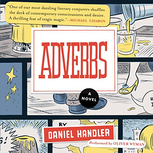 Adverbs audiobook cover art