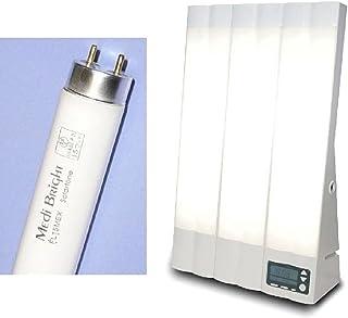光療法の標準器ブライトライトME+と 交換ランプのセット
