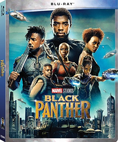 BLACK PANTHER BLU-RAY MARVEL STUDIOS WITH DISNEY MOVIE REWARDS (NO DIGITAL) 2018