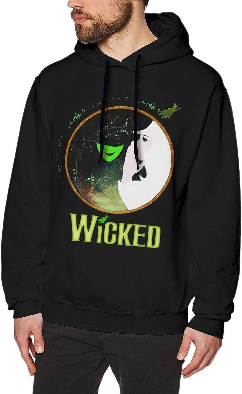 Skudf Wicked Mens Hoodies Sweater Black