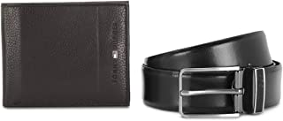 Tommy Hilfiger Brown Men's Belt and Wallet Combo (TH/CHARIOT/WALL/BLT/03)
