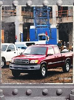 2002 Toyota Tundra Truck Original Sales Brochure Catalog