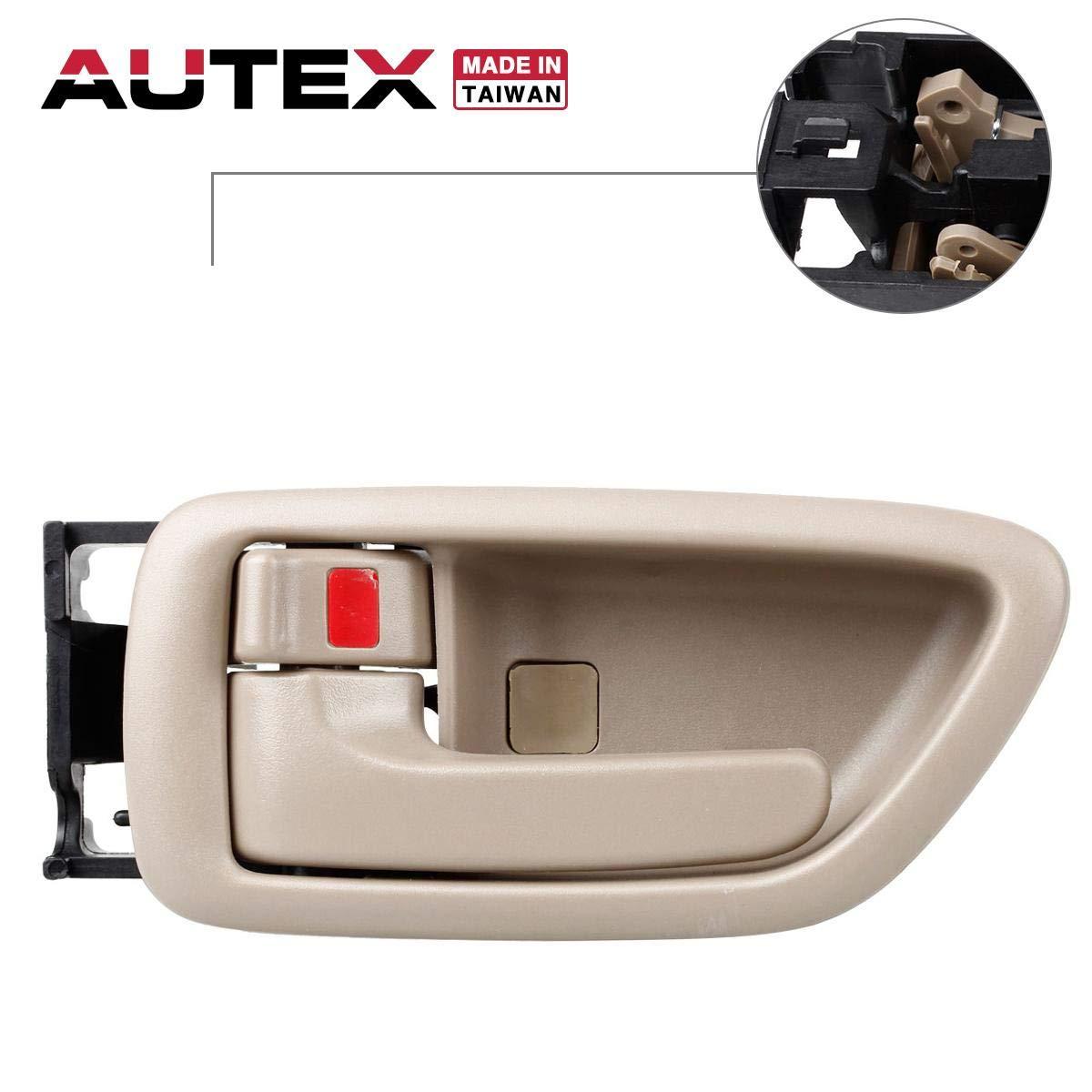 For TOYOTA SEQUOIA Door Handle 2001-2007 ExteriorRear Passenger Side