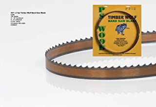 """PS Wood Timber Wolf 99 3/4"""" x 3/4"""" Band Saw Blade"""