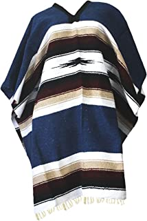 Mexican Diamond Woven Eastwood Poncho