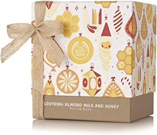 The Body Shop Almond Milk & Honey Gift Set, Enriched With Community Trade Organic Almond Milk from Spain, Great for Moistu...