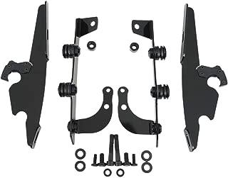 Memphis Shades MEK1955 Black Plate-Only Hardware Kit fits Honda VT750C2B Shadow Phantom 2010-2013