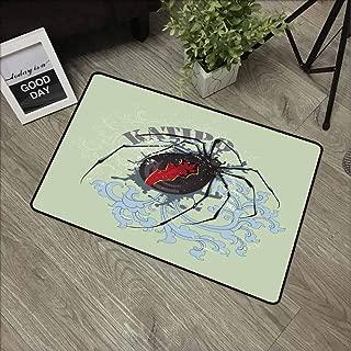 GUUVOR Front Door mat Carpet Machine Washable Door mat W47.2 x L60 Inch,