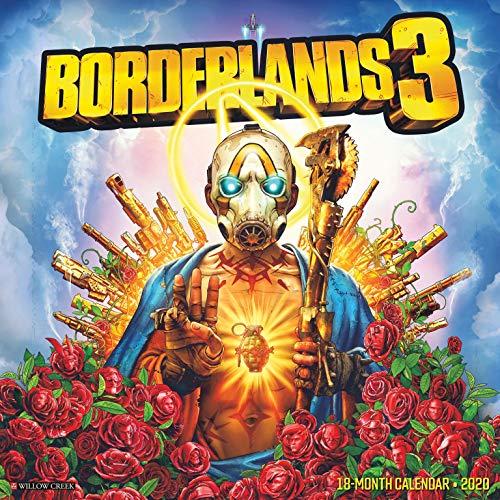 Borderlands 3 2020 Wall Calendar