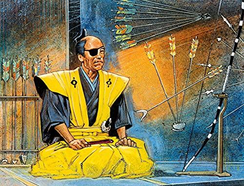 ZGNH Rompecabezas 1000 Piezas Espada samurái Japonesa Madera Puzzle, niño Juguete Educativo Intelectual de Adulto descompresión,Regalo Ideal La Mejor DIY Decoración hogareña