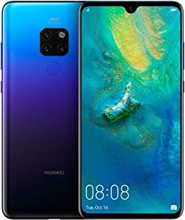 "Huawei Mate 20 Smartphone, 128GB, 6GB RAM,  6.53"", Leica Triple AI Camera - Twilight"