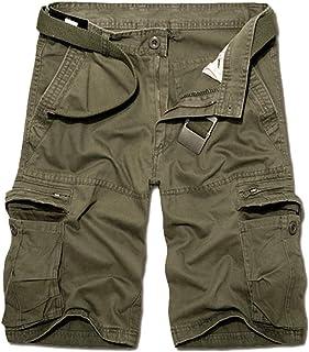 25fdabe511bf9 OEAK Pantalon de Travail Homme Cargo Chino Vintage Pantalon Randonnée  Militaire Casual Durables avec Multi Poches