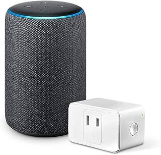 Echo Plus (エコープラス) 第2世代 - スマートスピーカー with Alexa、チャコール + Meross WiFi スマートプラグ MSS110JP