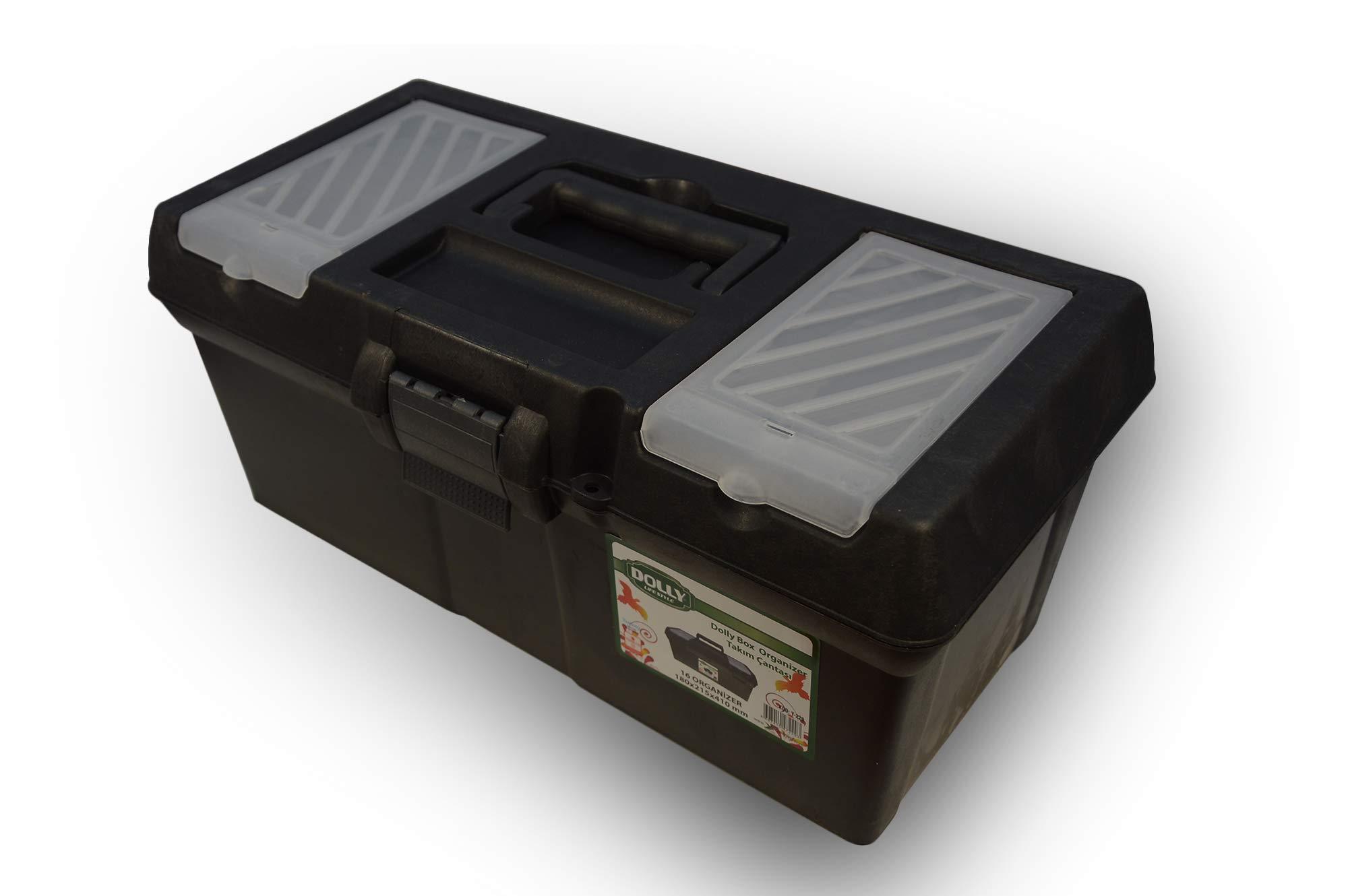 16günstig Herramientas vacía Caja de herramientas caja de herramientas caja de herramientas solleo: Amazon.es: Bricolaje y herramientas