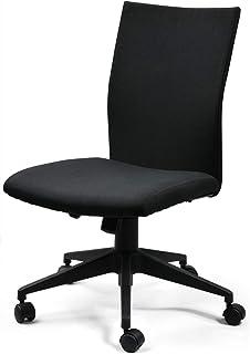 COMHOMA オフィスチェア おしゃれ ミーティングチェア パソコンチェア イームズ アルミナム 高さ調節 キャスター付き 『一年無償部品交換保証』(CH801BLACK)