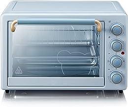 GJJSZ Horno eléctrico de 35 l,múltiples Funciones de cocción y Parrilla,Control de Temperatura Ajustable,Temporizador de 120 Minutos,1600 W,para familias y Fiestas