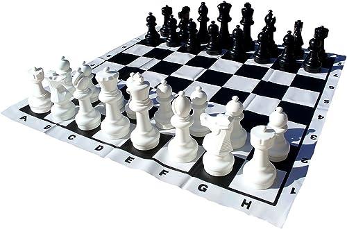 CNChess 30,5cm King Jardin Jeu d'échecs de