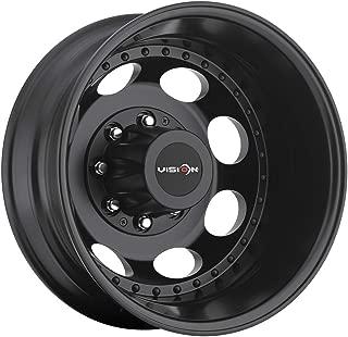 Vision 181H Hauler Dually 19.5x6.75 8x170 -143mm Matte Black Wheel Rim