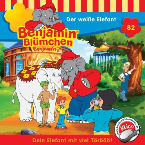 Der weiße Elefant audiobook cover art