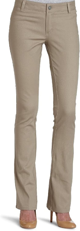 Dickies Girl womens Juniors Dealer No Pocket Straight Leg Pant