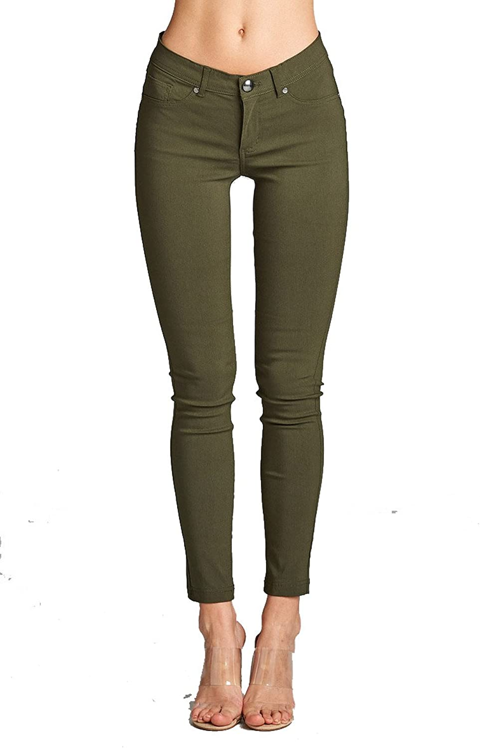 YourStyle Stretch Skinny Basic PantsUltra Stretch Comfy Pants