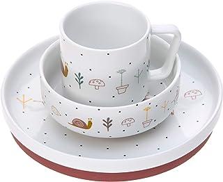 Bing Kinder-Geschirr Set mit Teller M/üslischale und Tasse