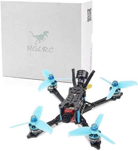 mejor precio Fannty Fannty Fannty para HGLRC Arrow 3 FPV Racing Drone 4S PNP Quadcopters con para Flysky A8S V2 Receptor F4 FC 1408 Motor 45A Cámara Blheli32 Caddx Ratel  la mejor selección de