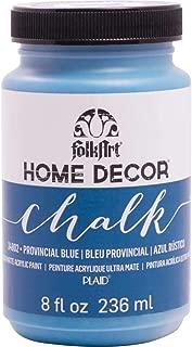 FolkArt Home Decor Chalk Paint 8oz-Provencial Blue