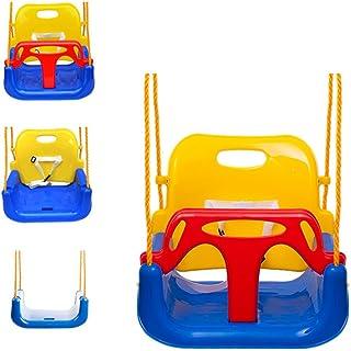 EXTSUD 3 En 1 Columpios Infantiles para Bebés Niños con Si