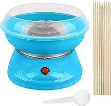 Machine à Barbe à Papa Machine à Bonbons Fabricant Automat Cotton Candy 500W (Bleu)