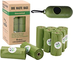 Made By Aliens Dog Waste Bags with Poop Bag Dispenser, Enhanced Thick and Strong Poop Bags for Dogs,