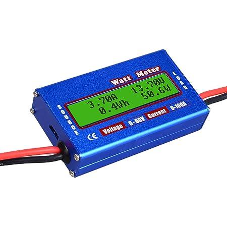 Kkmoon100a High Precision Power Analyzer Wattmeter Batterieverbrauch Leistungsüberwachung Mit Lcd Hintergrundbeleuchtung Für Rc Batterie Solar Windenergie Auto